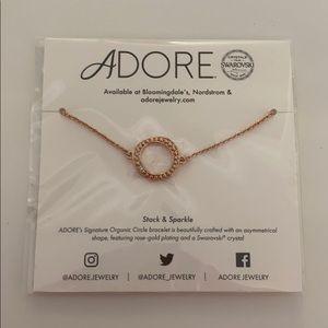 Adore Stack & Sparkle Swaroski Bracelet